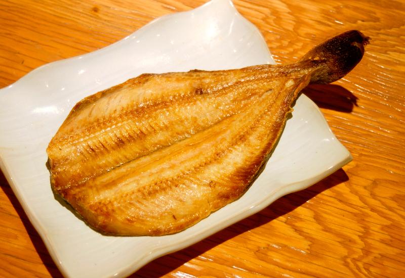 焼魚(ホッケのひらき)